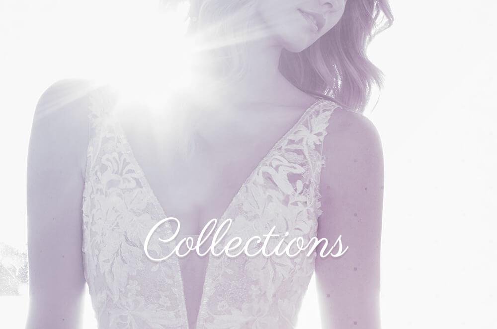 Nos collections de robes de mariée